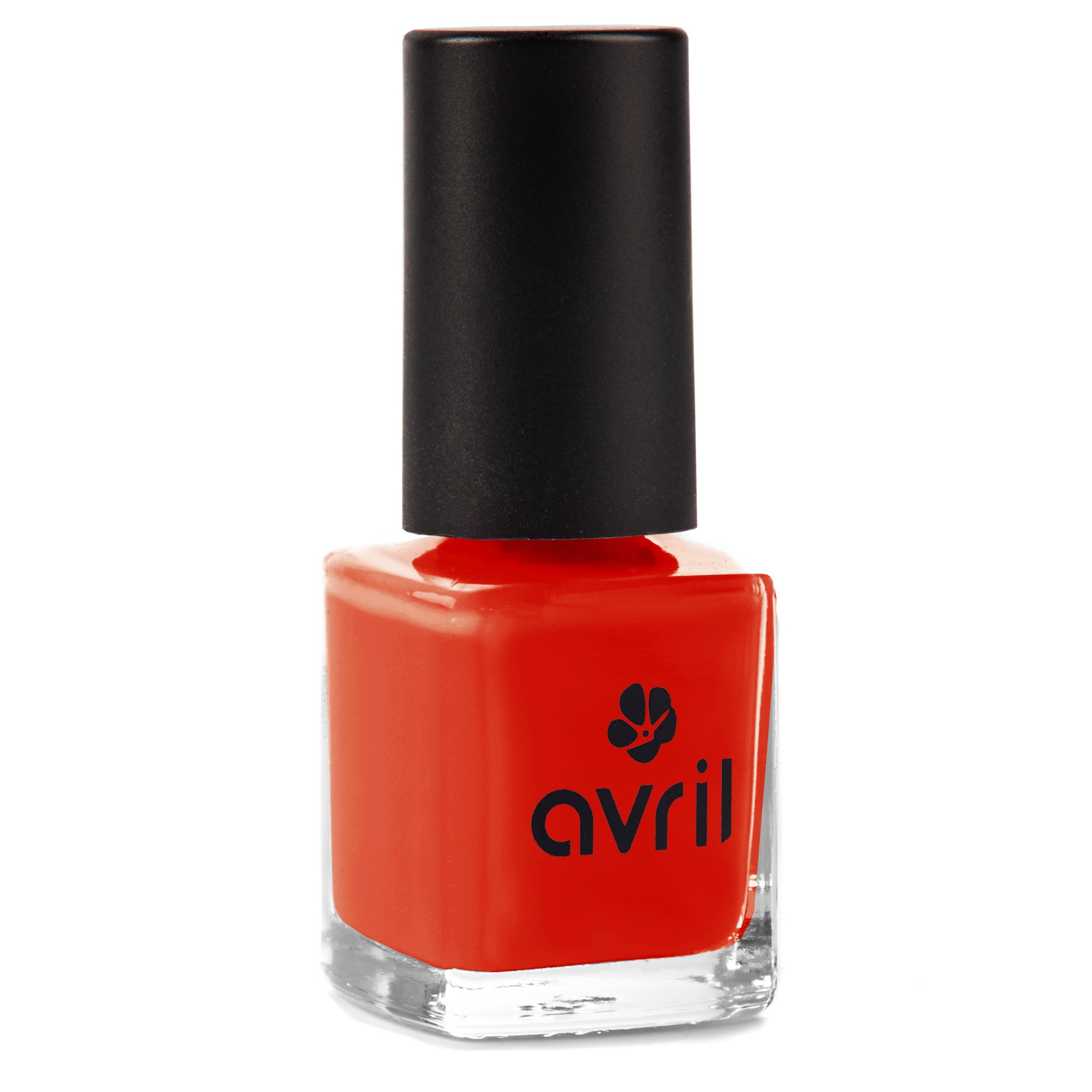 Super Vernis à ongles rouge orangé naturel NC35