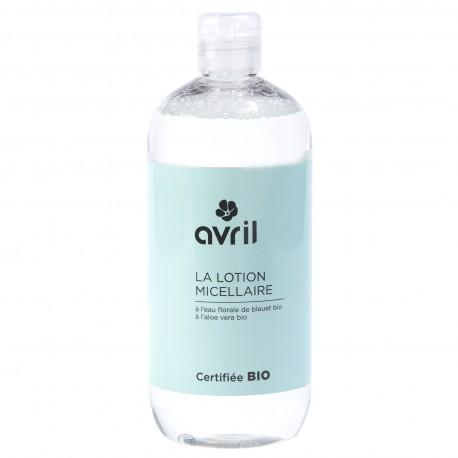 Lotion micellaire - A l'eau florale de bleuet bio - 500 ml - Certifiée bio