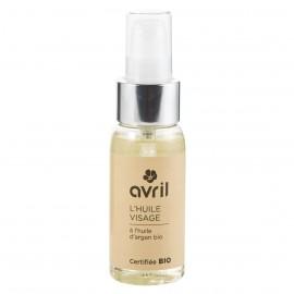 Huile visage  A l'huile d'argan bio - 50ml - Certifiée bio