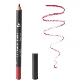 Crayon contour des lèvres Rouge Franc bio