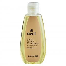 Huile de bain et massage  A l'huile d'argan bio