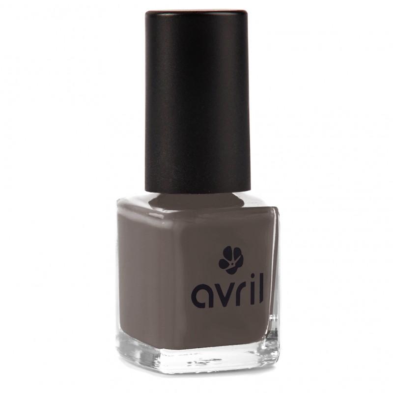 Vernis gris fonc 7free for Lot vernis nail art pas cher