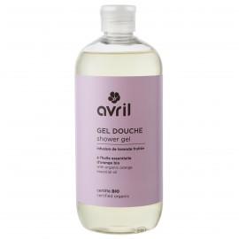 Gel douche Lavande-Orange - Certifié bio - 500 ml