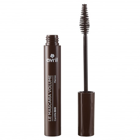 Mascara Volume Marron  Certifié bio