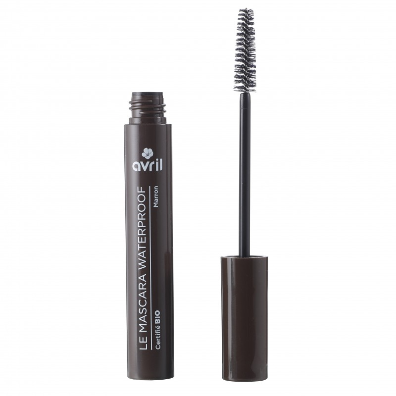 mascara waterproof marron certifi bio et cruelty free