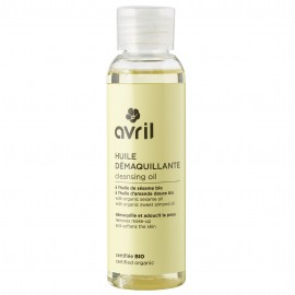 Huile démaquillante  A l'huile de sésame bio - 100ml - Certifiée bio