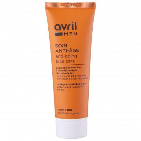 Soin anti-âge Homme 50 ml - Certifié bio