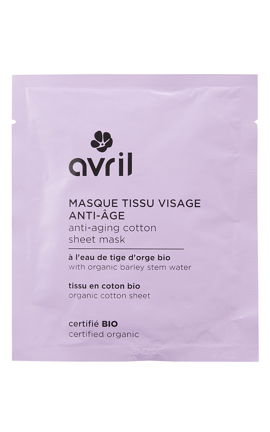masque anti age homme