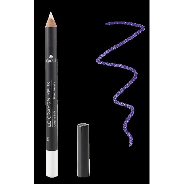 Crayon yeux Blanc Lunaire bio