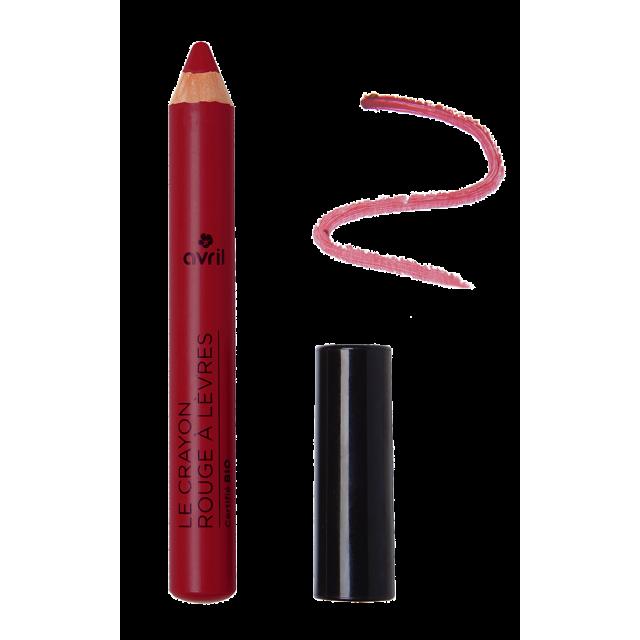 Crayon rouge à lèvres Châtaigne n°85  Certifié bio
