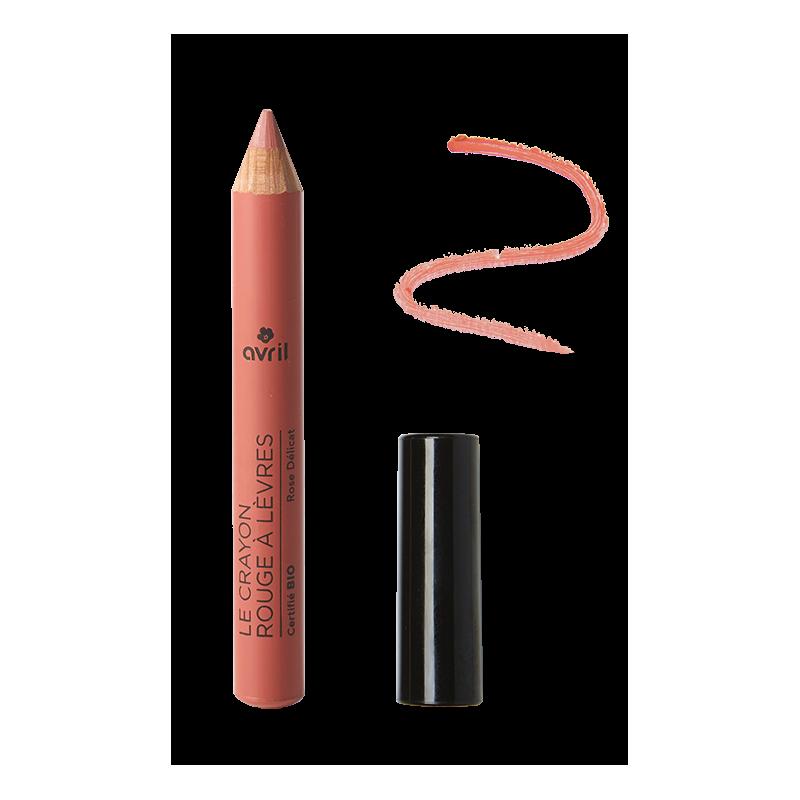 Crayon jumbo lèvres rose bio