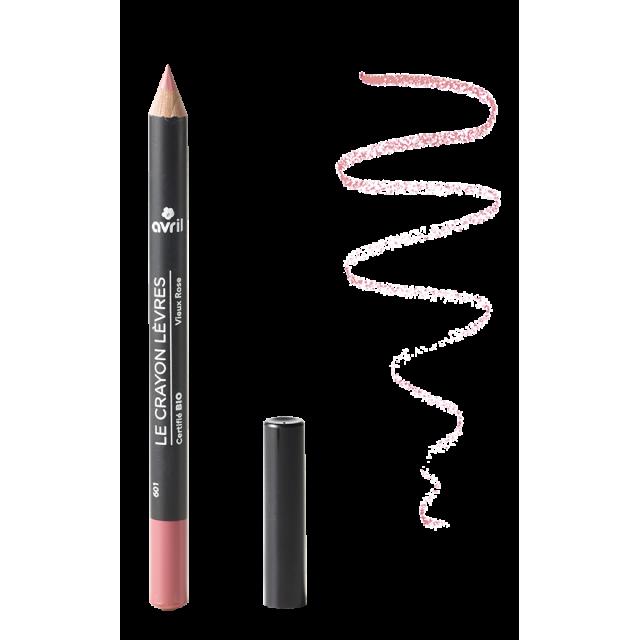Crayon contour des lèvres Vieux Rose bio
