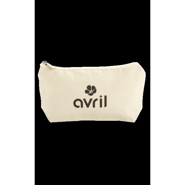 Trousse à maquillage en coton bio   Petit format