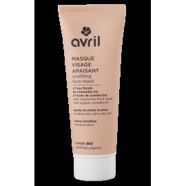 Masque visage apaisant  50 ml – Certifié bio