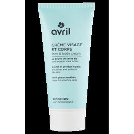 Crème visage et corps - Au beurre de karité bio - 200 ml - Certifiée bio