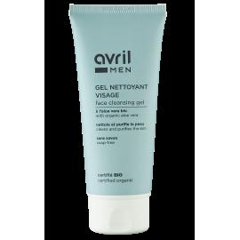 Gel nettoyant visage Homme  100 ml – Certifié bio