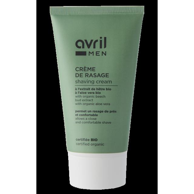 Crème de rasage  150ml – Certifiée bio