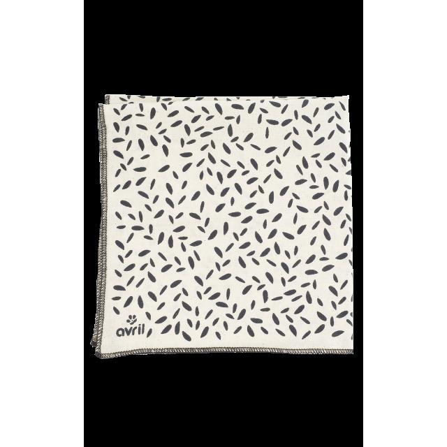 Furoshiki Pétales 32 x 32 cm  Coton bio