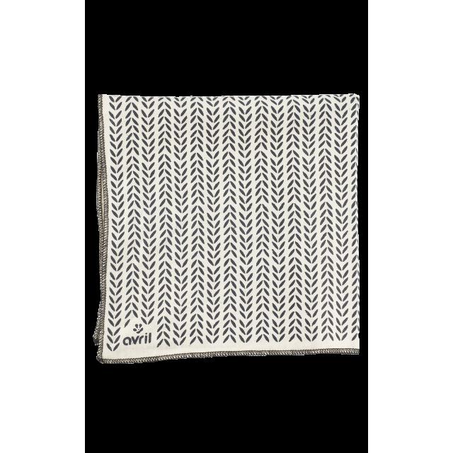 Furoshiki Feuillage 32 x 32 cm  Coton bio