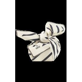 Furoshiki Zèbre 52 x 52 cm  Coton bio