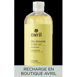 Recharge gel douche Zeste de citron  500ml - Certifié bio