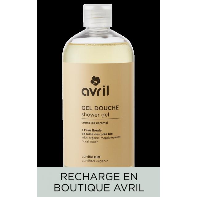 Recharge gel douche Crème de Caramel  500ml - Certifié bio
