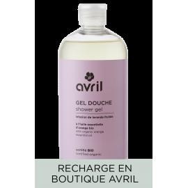 Recharge gel douche Infusion de lavande fruitée  500 ml - Certifié bio