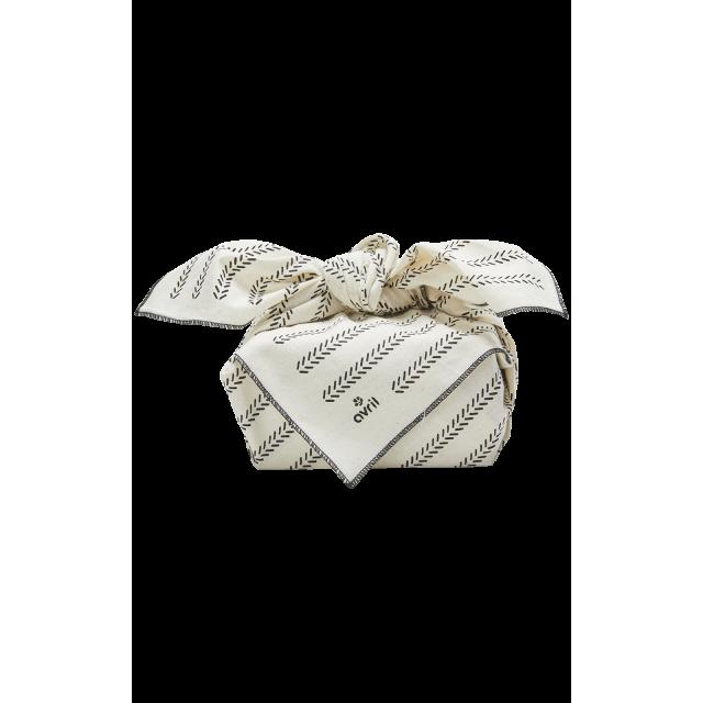 Furoshiki Épis 65 x 65 cm  Coton bio