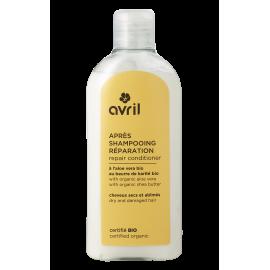 Après-shampooing Réparation Cheveux secs et abimés bio