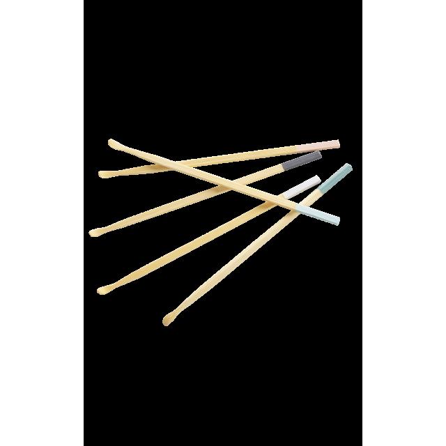 Cure-oreilles en bambou - bleu vert
