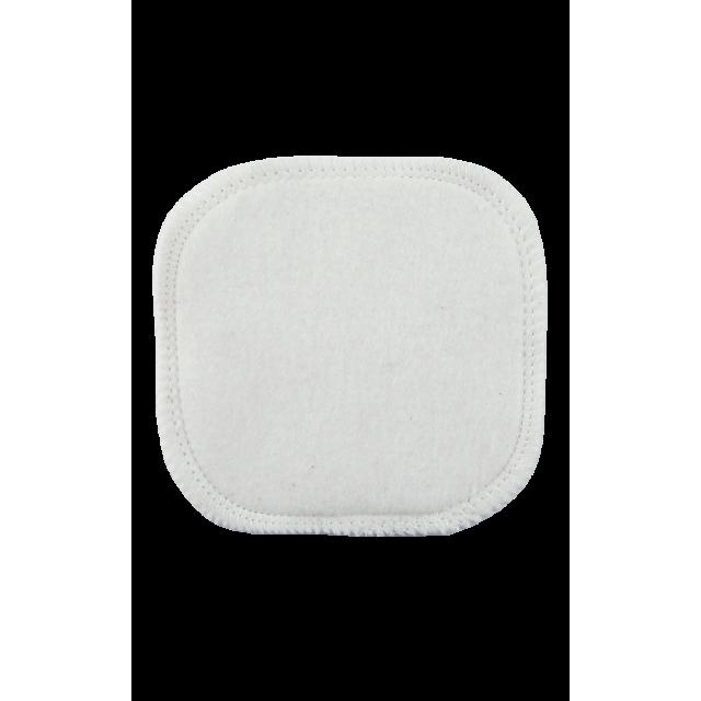 Carré démaquillant lavable en coton bio