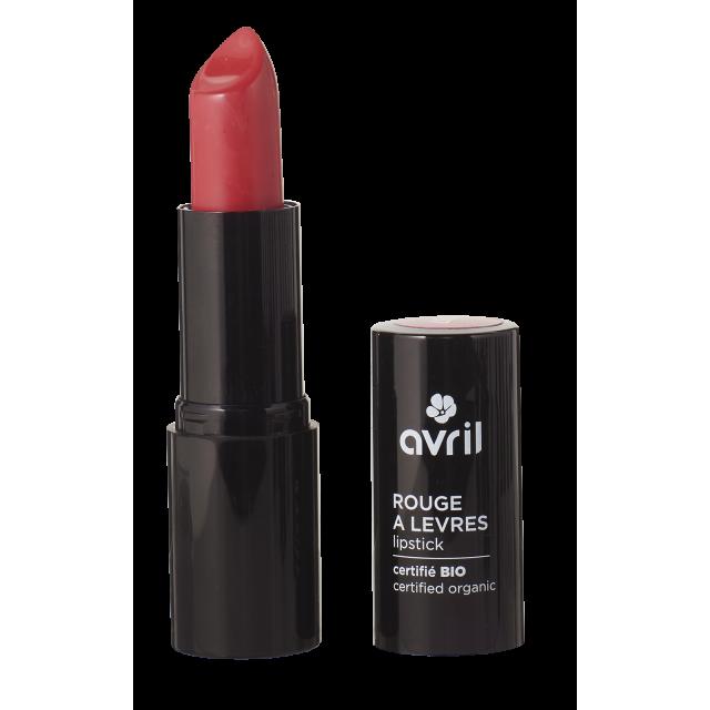 Rouge à lèvres Coquelicot bio