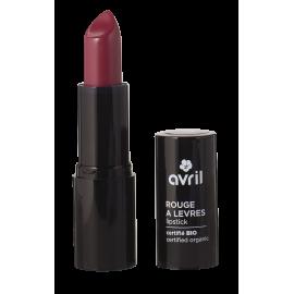 Rouge à lèvres Grenat n°635  Certifié bio