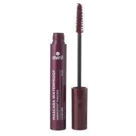 Mascara Waterproof Prune  Certifié bio