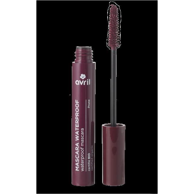 Mascara Waterproof Prune  Certifié bio