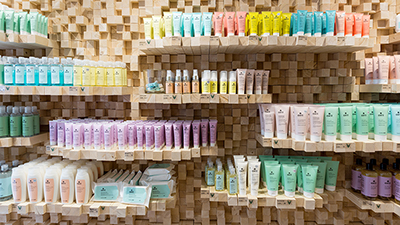 Organic cosmetics and make-shop Lille France