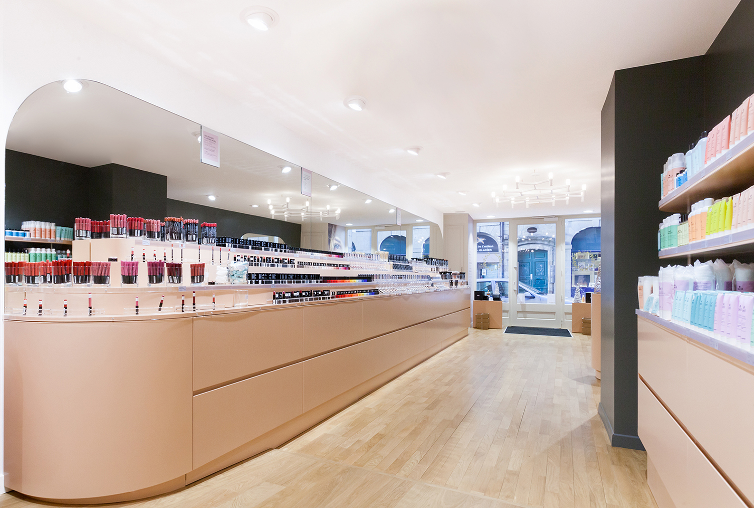 Avril organic cosmetics shop in Rennes France
