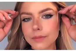 Tuto vidéo maquillage : bleu marine